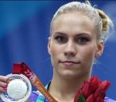 Ксения Афанасьева на Универсиаде-2013.