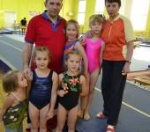 Соревнования по ОФП в спортивной школе СКА.