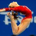 Занятия спортивной гимнастикой.