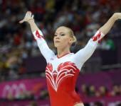 Спортивная гимнастика. Вольные упражнения.