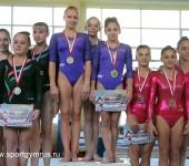 Сборная России по спортивной гимнастике в Батуми.