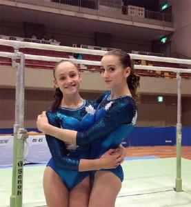Гимнастка Megan Roberts