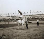 Прыжок через коня, 1901 год.