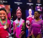 Женское многоборье на Чемпионате мира Glasgow 2015.
