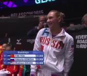Виктория Комова чемпион и дипломат мира.