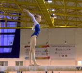 Гимнастка Juliette Bossu.