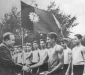Спортивная гимнастика 1930-х годов.