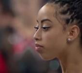 Американская гимнастка Софина ДеДжизус.