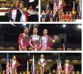 Международные соревнования International Gymnix 2016.
