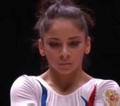 Седа Тутхалян чемпионка России в опорном прыжке.