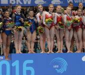 Гимнастки из России выиграли командные соревнования.