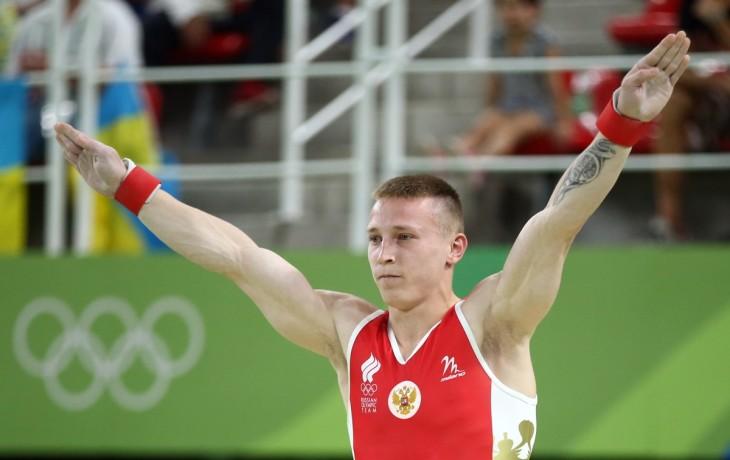 Денис Аблязин завоевал две медали по спортивной гимнастике на Олимпиаде в Рио.