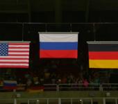 Медведев поздравил гимнасток Алию Мустафину и Марию Пасеку с медалями на Олимпиаде в Рио.
