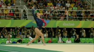 Сборная США по спортивной гимнастике на Олимпиаде в Рио.
