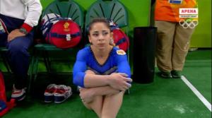 Финал женского многоборья на Олимпиаде в Рио.